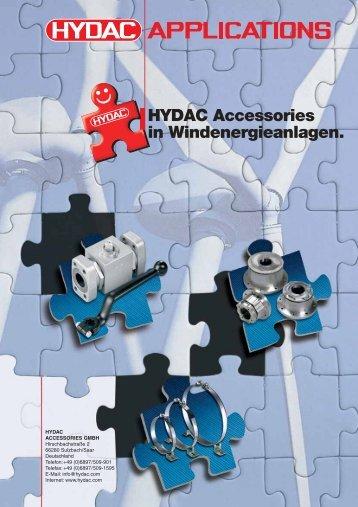 HYDAC Accessories in Windenergieanlagen.
