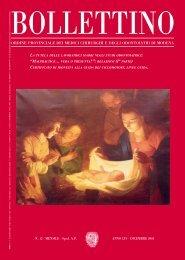 Dicembre 2005 (pdf - 1.9 MB) - Ordine Provinciale dei Medici ...