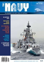 VOL 73 No1 - Navy League of Australia