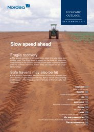 Slow speed ahead - Nordea Bank Lietuva