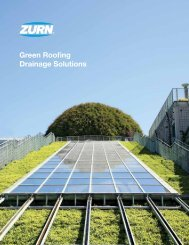 Green Roofing Drainage Solutions - Zurn