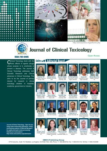 Journal of Clinical Toxicology