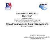 Retos Prioritarios en Agua y Saneamiento - U.S. Commercial Service