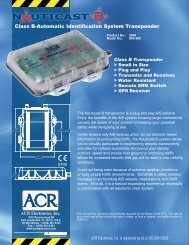 Class B-Automatic Identification System Transponder