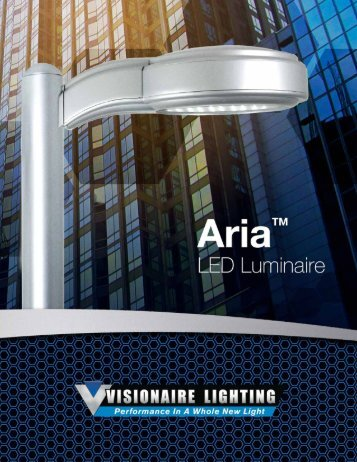 Aria LED - Visionaire Lighting, LLC