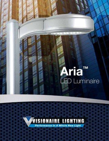 Aria LED - Visionaire Lighting LLC & AREA LIGHTING AREA LIGHTING - Visionaire Lighting LLC azcodes.com
