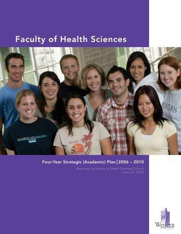Faculty of Health Sciences - University of Western Ontario