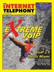 INTERNET TELEPHONY January 2005 - TMC's Digital Magazine ...