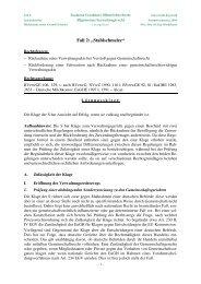 8. Verwaltungsrecht AT Sachverhalt 2 - Lehrstuhl für Öffentliches ...