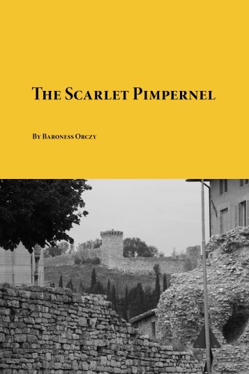 The-Scarlet-Pimpernel