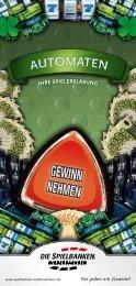 SNG_Spiel_Automaten_web.pdf - Spielbanken Niedersachsen GmbH