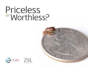 Priceless or Worthless? - De Volkskrant