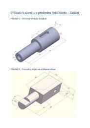Příklady k zápočtu z předmětu SolidWorks – Zadání - eAMOS