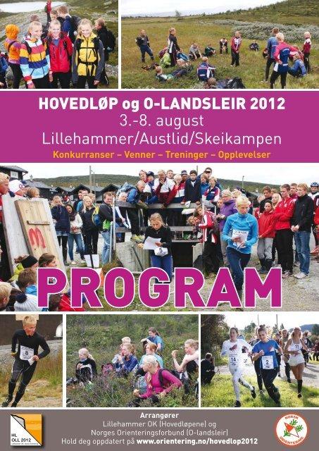 program - Norges orienteringsforbund