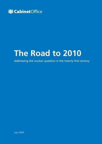 The Road to 2010 - Acronym Institute