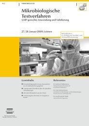 Mikrobiologische Testverfahren - GMP-Navigator