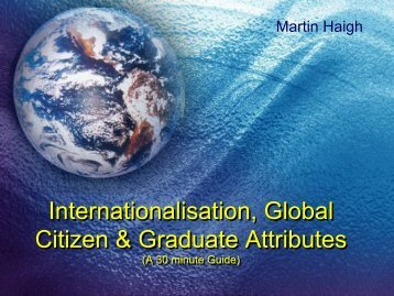 Global Citizenship Quick Guide - Guide to Quality and Education for ...