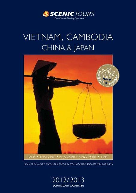 VIETNAM, CAMBODIA CHINA & JAPAN - Scenic Tours