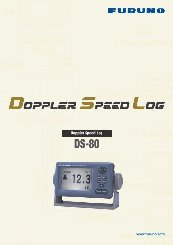 Doppler Speed Log - Furuno Norge AS
