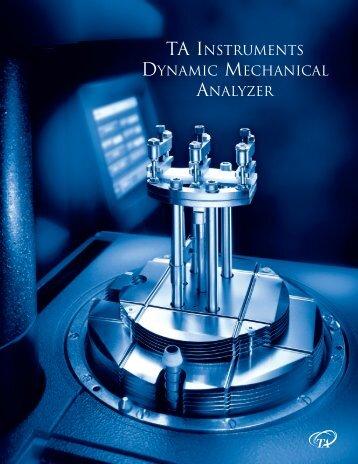 DMA Brochure 1 - TA Instruments
