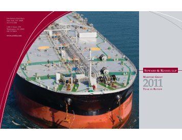 Maritime Group 2011 Year in Review - Seward and Kissel