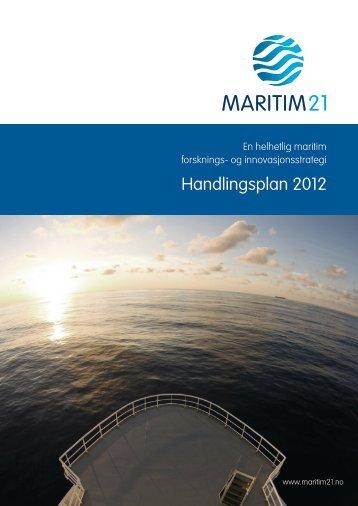 Maritim21 Handlingsplan 2012