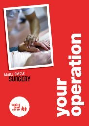 SURGERY - Beating Bowel Cancer