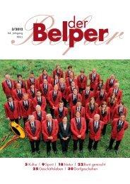 5 Kultur | 9 Sport | 18 Natur | 22 Bunt gemischt 25 ... - Der Belper