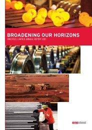 BROADENING OUR HORIZONS - Arrium