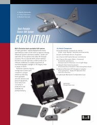 Back-Packable Electric UAV System - Unmanned Aircraft & Drones