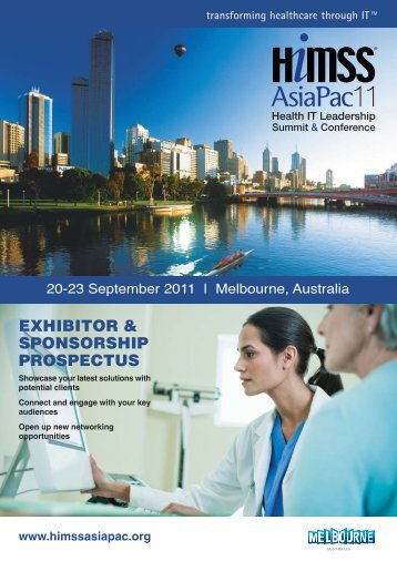 HIMSS2011 Melbourne Prospectus - HIMSS AsiaPac