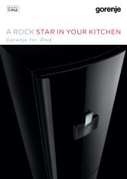 A ROCK STAR in YOuR KiTChen - Gorenje