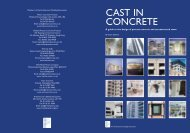 cast concrete - British Precast