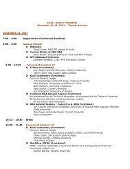 101707_Kuali Days V Agenda.pdf - University of Hawaii