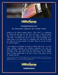 PortableFireGel.com - Military Systems & Technology