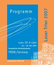 Programm - LASER-TRIER.de