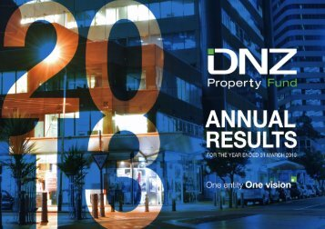 DNZ Annual Results Presentation for the year ended 31 March 2013