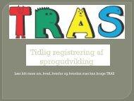 TRAS metode til tidlig sprogudvikling