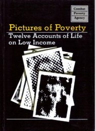 Pictures of Poverty - Combat Poverty Agency
