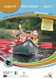 Ferien-Camps für Kinder und Jugendliche - Naturpark Dübener Heide