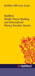 NatWest Mobile Phone Banking and International Money Transfers ...
