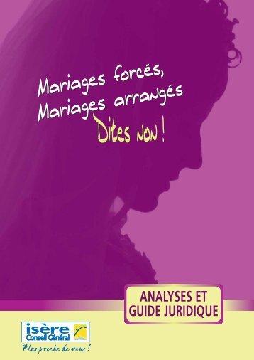 Mariages forcés - Ligue des droits de l'Homme