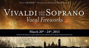 Vivaldi & the Soprano - Seraphic Fire