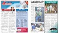 Saving money is no joke Co-op inspecting poles in Oktibbeha County