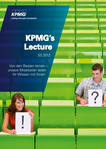 KPMG's Lecture