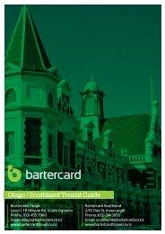 Otago/Southland - Bartercard Travel