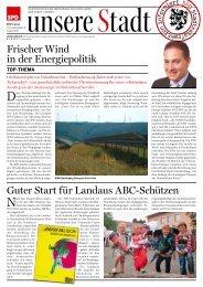 Frischer Wind in der Energiepolitik Guter Start für Landaus ABC ...