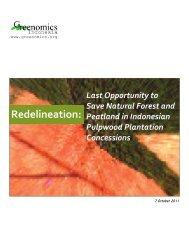 Redelineation: - Greenomics Indonesia
