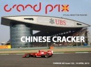 CHINESE GP, Issue 122 , 14 APRIL 2013 - Grandprixplus