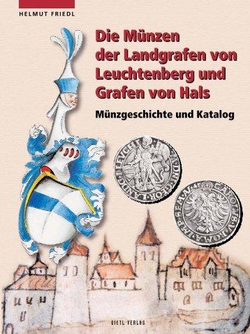 Die Münzen Der Landgrafen Von Leuchtenberg Und Gietl Verlag
